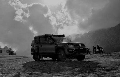 Impressionen vom Reisen mit VW Amarok von pick-up-and-go